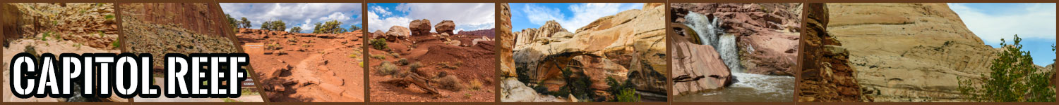 Capitol Reef header image