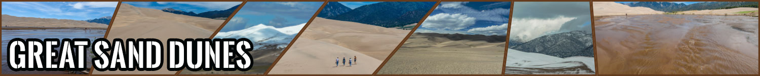 Great Sand Dunes header image