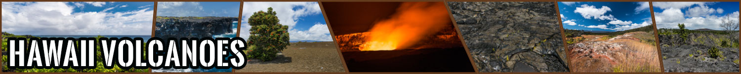 Hawaii Volcanoes header image