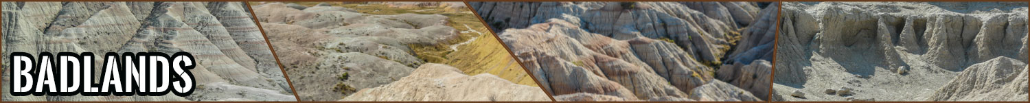 Badlands header image