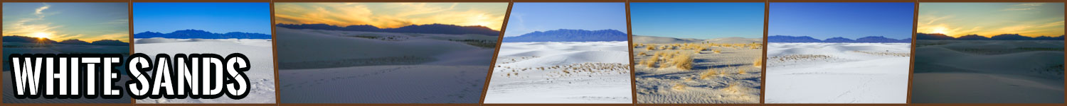 White Sands header image